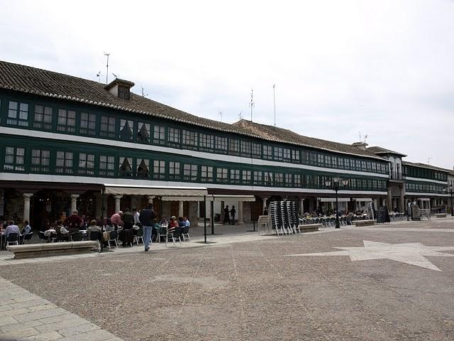 La Ĉefa Placo en Almagro